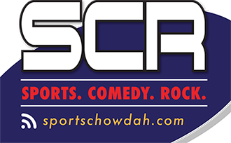 Sports Comedy Rock Logo